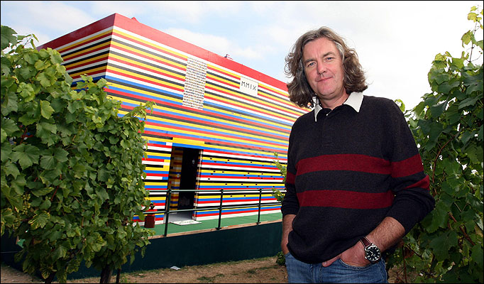 James May Full Size Lego House